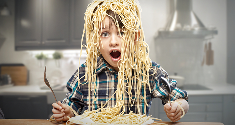Getting Kids Off the White Pasta