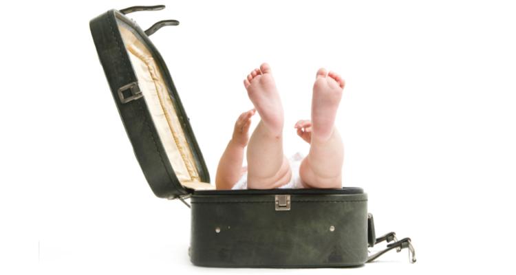 Top Ten Sleep Tips When Flying with Kids