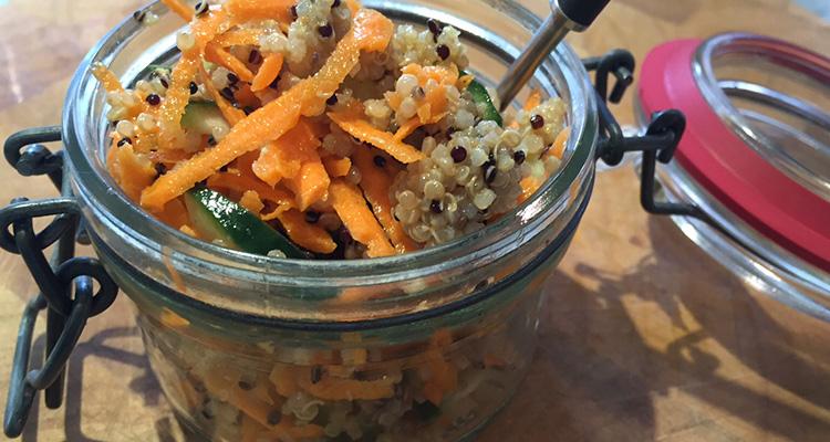 Express Quinoa Salad