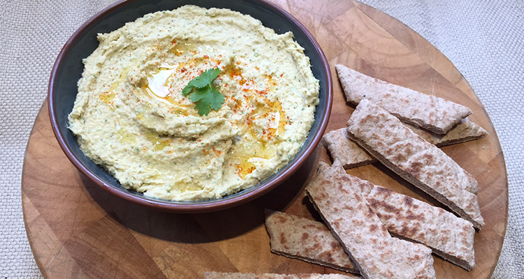 Lime and Coriander Houmous