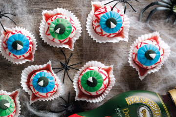 Bloodshot Eye Balls Halloween Recipe