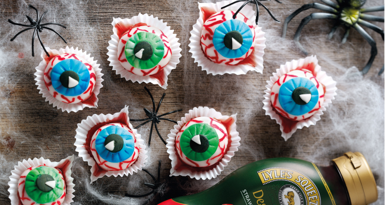 Bloodshot Eye Balls Halloween Recipe