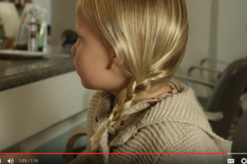 Elsa Hair Tutorial for Kids