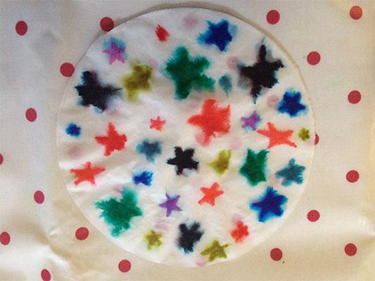 chromatography snowflakes