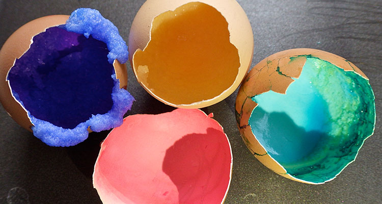 Egg Geodes: Grow your own crystals