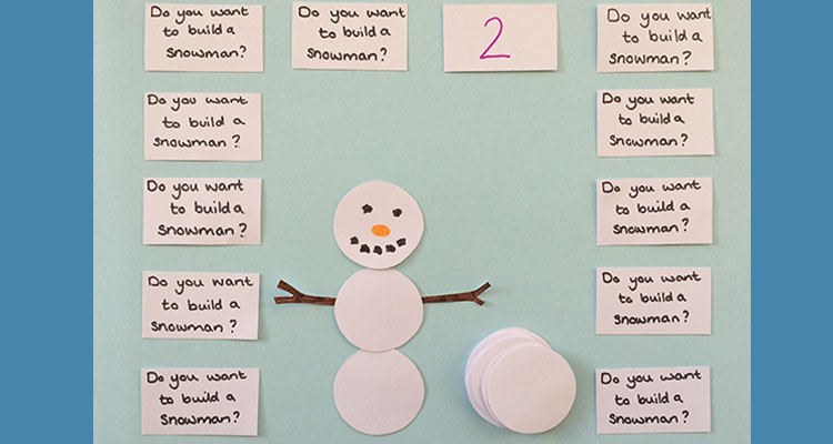Do you want to build a snowman maths activity