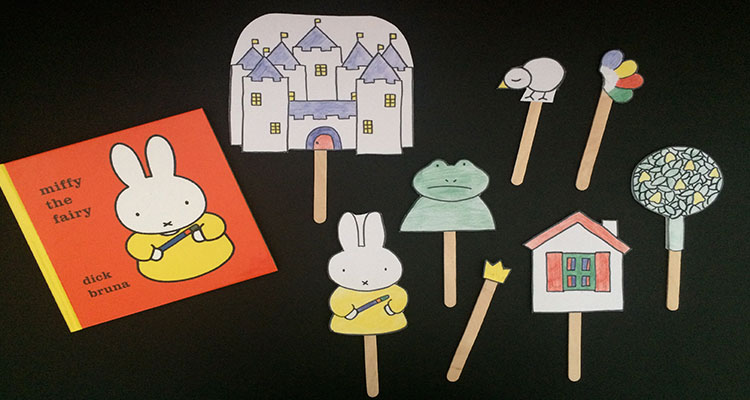 Miffy Puppets: A Story Bag