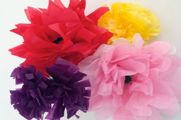 Posy of Paper Flowers