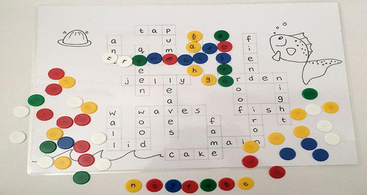 Scrabble Jr Busy Bag