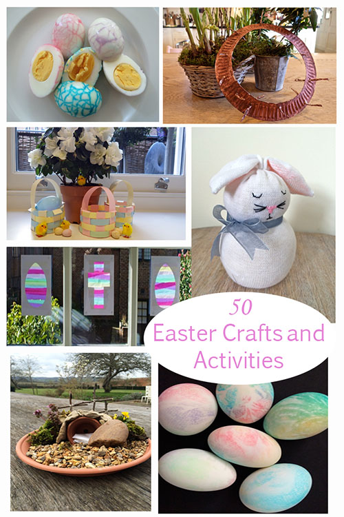 50 of the best Easter Crafts and Activities