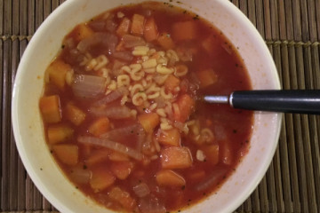 Alphabet Soup Kids Recipe