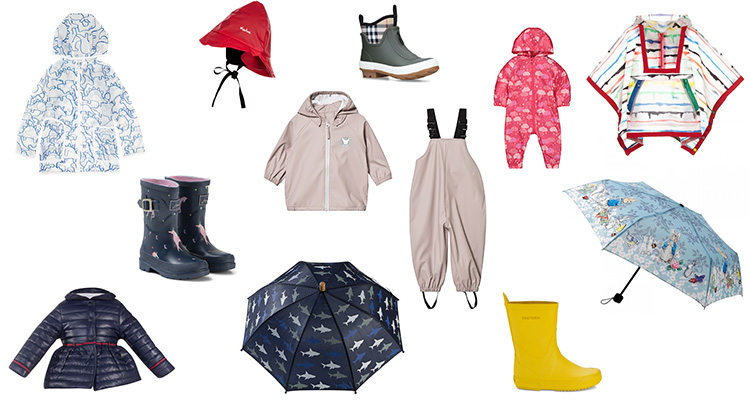 kids april showers fashion