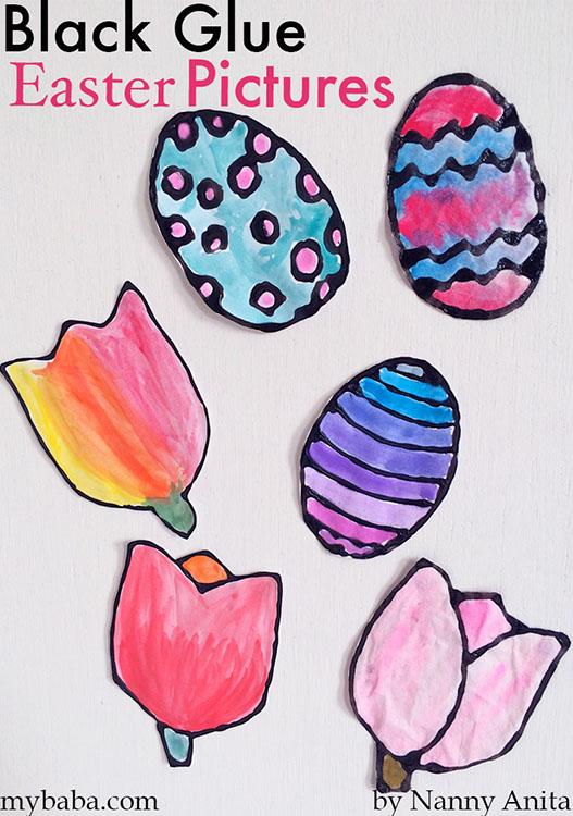 Black Glue Easter Pictures