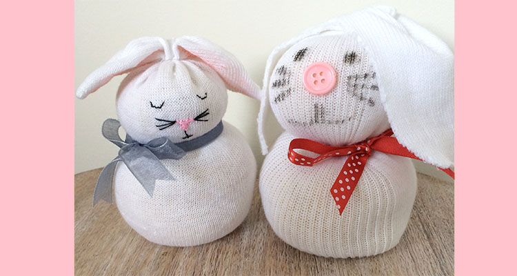 Sock Bunnies An Easter Craft For Kids My Baba