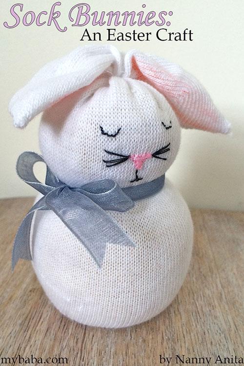 Easy Sock Bunny Craft