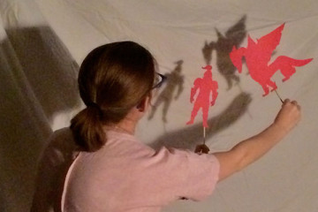 St. George's Day Shadow Puppet Theatre