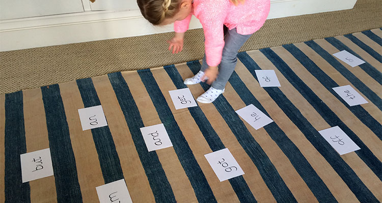 Speed Sight Word Game