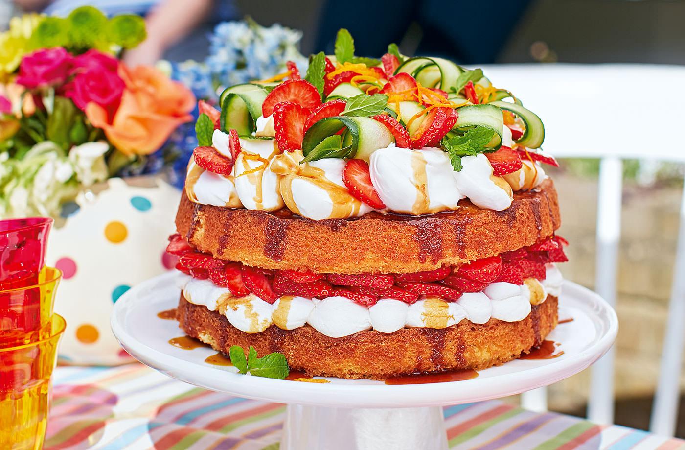 Pimms Birthday Cake
