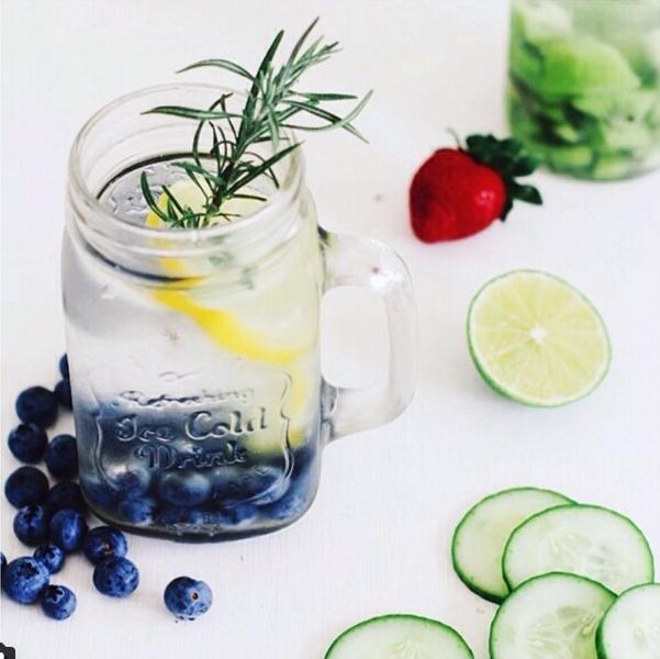 Lemon and Blueberries