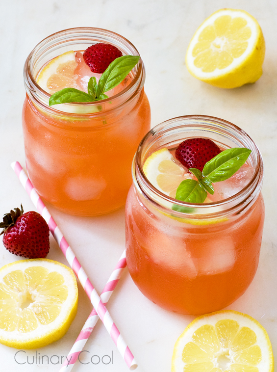 Strawberry, Lemon and Basil