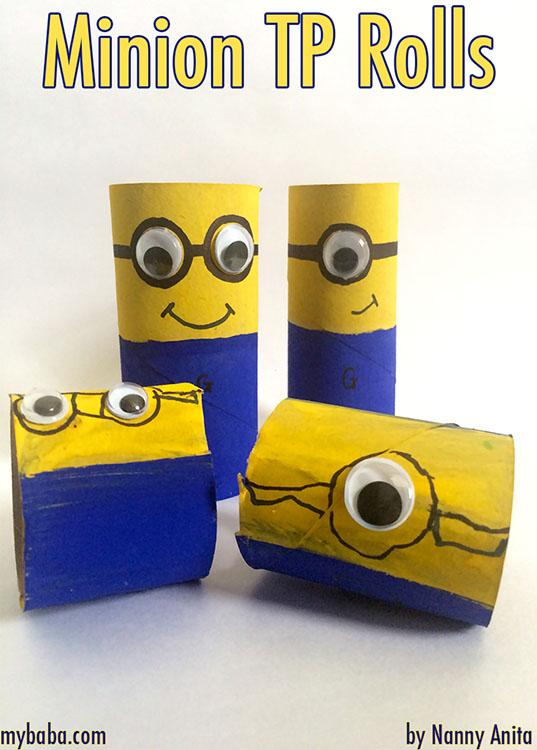 Minions Toilet Paper Rolls