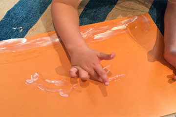Sun Tan Lotion Painting: Why We Need to Wear Sun Tan Lotion