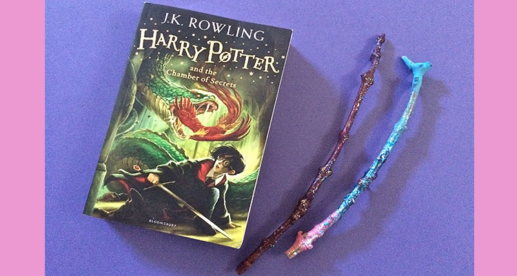How to make a wizard wand