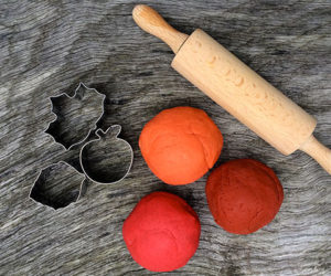Autumn Play Dough