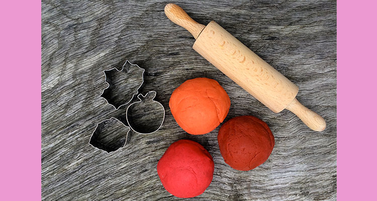 Autumn Play Dough
