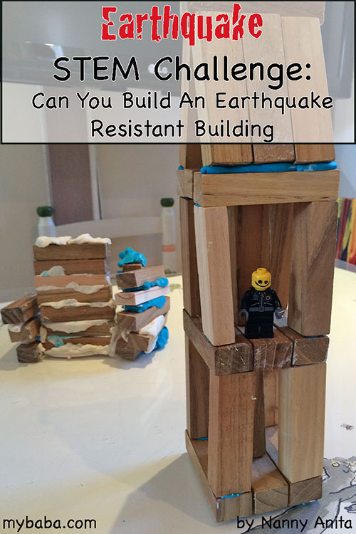 Earthquake Stem Challenge My Baba Parenting Blog