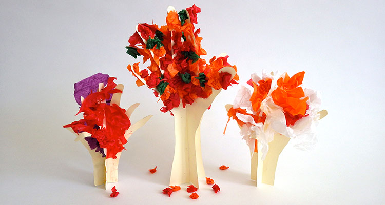 3D Autumn Tree Craft