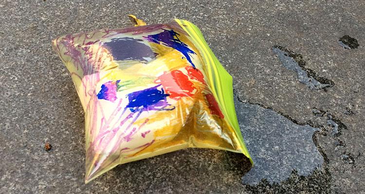 Monster Exploding Bag Experiment