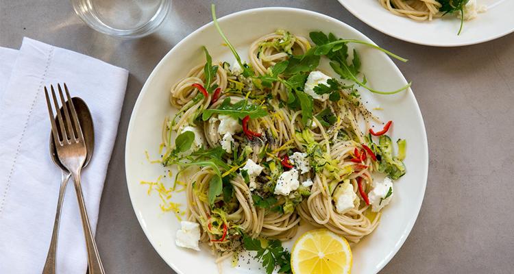 courgette-pasta