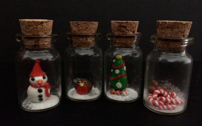Mini Christmas Bottles: A Christmas Craft for Tweens and Teens
