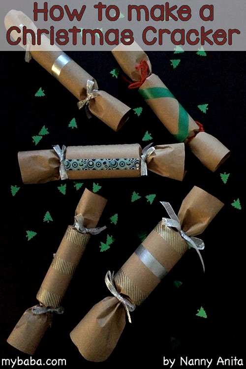 How to make a Christmas cracker.