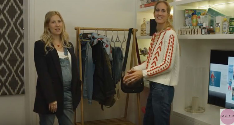 Denim Maternity Fashion