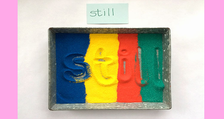 Sand Tray Writing