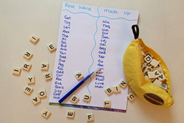 CVC word building activity