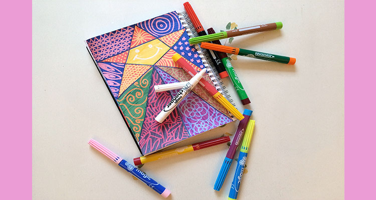 Zentangles for children