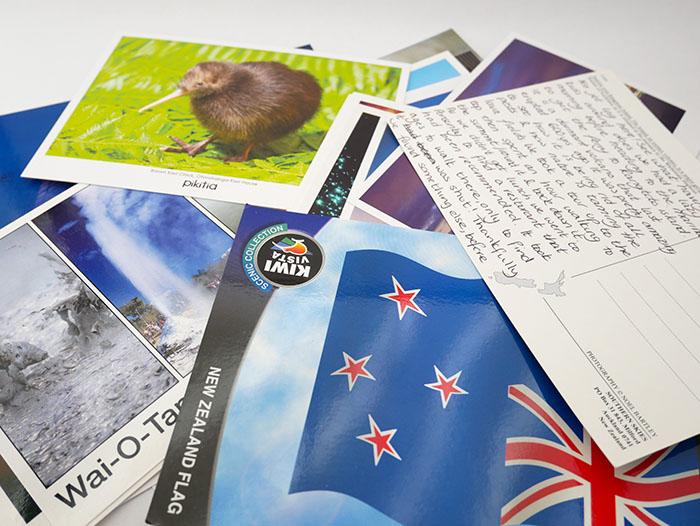 making memories with postcard diaries  nanny anita  my baba