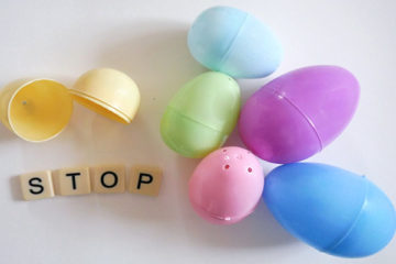 Plastic Egg Spelling Activity