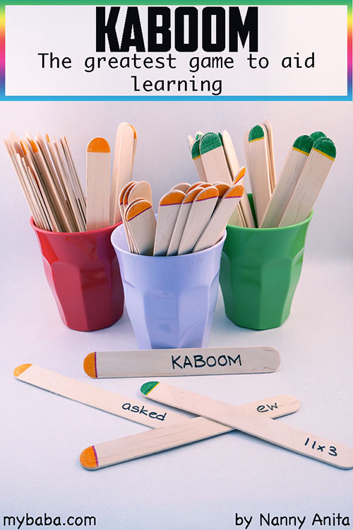 Kaboom: the greatest game to aid learning on any topic. Great for classrooms, homeschooling or revision.