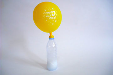 inflating a balloon science