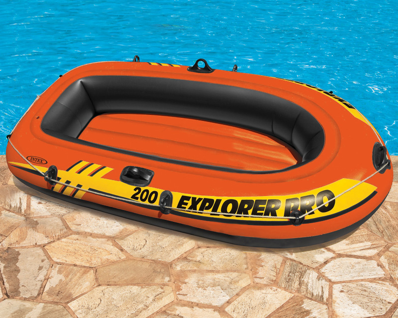 Intex Explorer Pro 200 Boat Set from Smyths