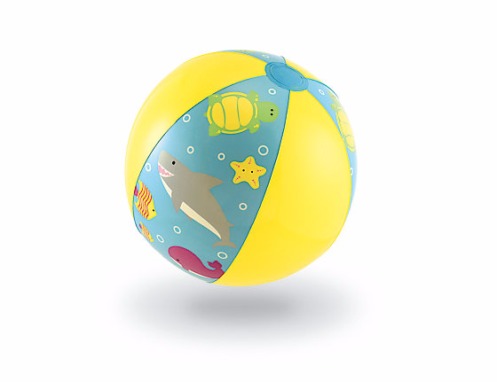 Yellow Beach Ball from Mothercare