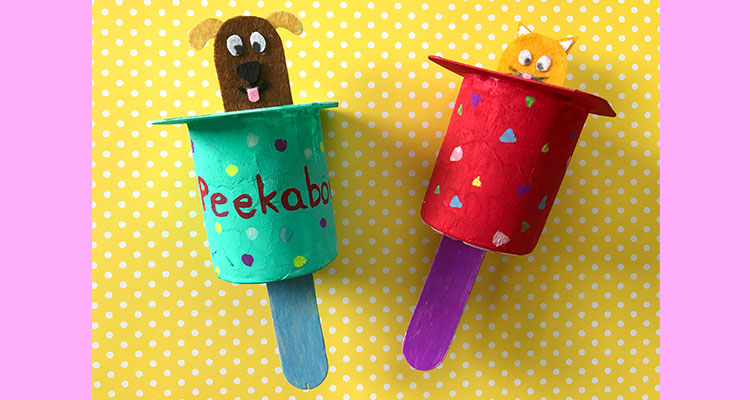 Homemade Peek-a-Boo Toy for Babies || My Baba
