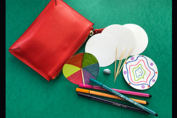 spinning top busy bag