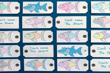 Don't wake the shark card game