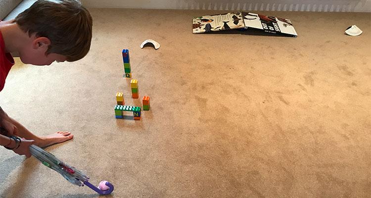diy indoor mini golf