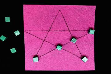 Pentalpha puzzle